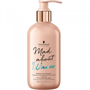 Schwarzkopf Shampooing ondulations sans sulfate Mad About Waves 300ML, Cosmétique