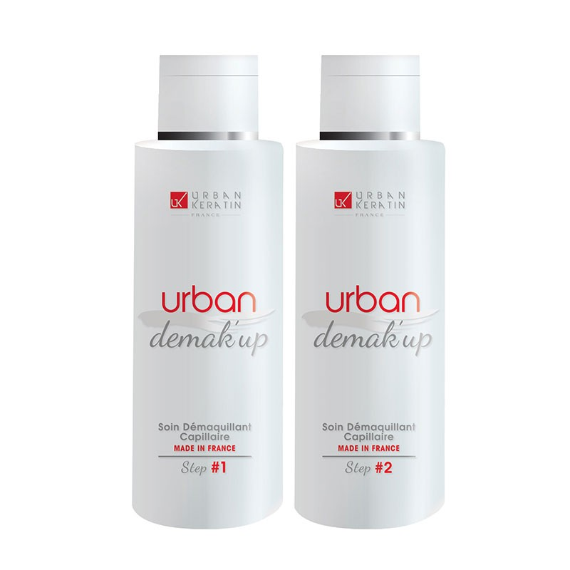 Urban Keratin Kit démaquillant capillaire Urban Demak'Up 50ML, Décoloration