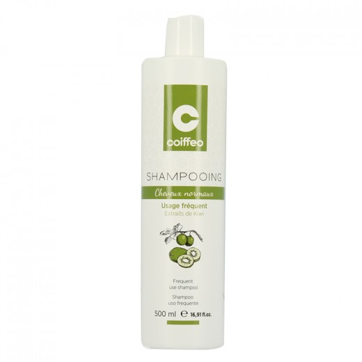 Coiffeo Shampooing cheveux normaux 500ML, Cosmétique