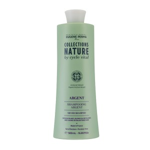 Eugène Perma Shampooing argent Cycle Vital 500ML, Shampoing naturel