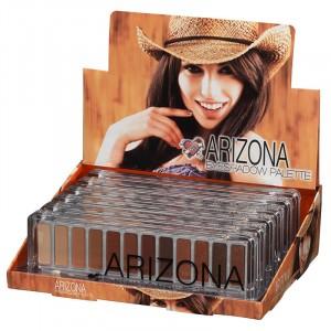 Présentoir 6 palettes fards à paupières Arizona