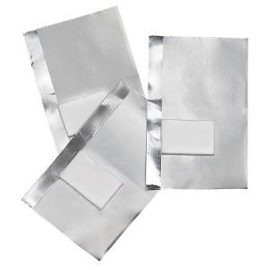 Peggy Sage Feuilles aluminium avec compresse integrée x50, Accessoires manucure
