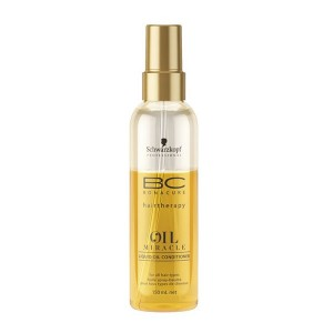 Schwarzkopf Biphase oil miracle bonacure 150ML, Spray cheveux