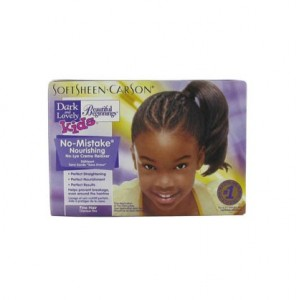 Soft Sheen.Carson Kit défrisage enfant cheveux fins Dark & Lovely 351ML, Kit défrisage