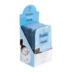 Présentoir de 24 masques moussants Bubble Mask