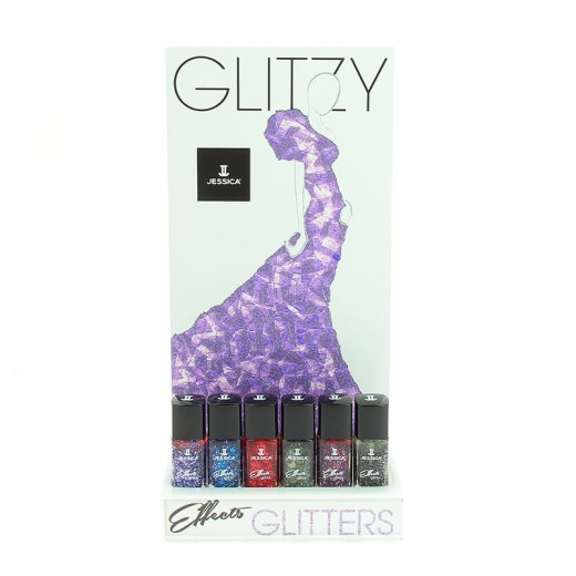Presentoir effects glitzy jessica 12 vernis