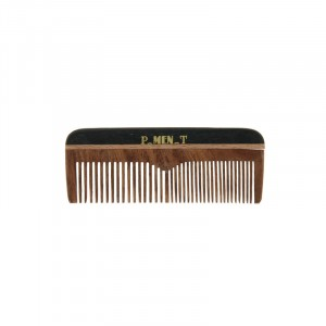 Pure Men Tolerance Mini peigne barbe & moustache 9.5cm, Peigne barbe