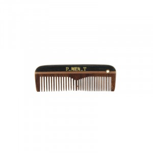 Pure Men Tolerance Peigne Pocket barbe & moustache 7.5cm, Peigne barbe