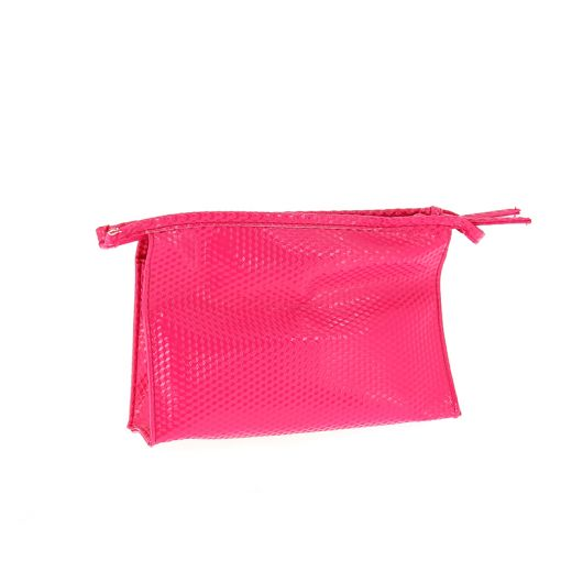 Parisax Trousse vinyl rose, Trousse maquillage