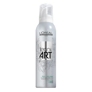 L'Oréal Professionnel Mousse Full volume Tecni.art 250ML, Mousse coiffante