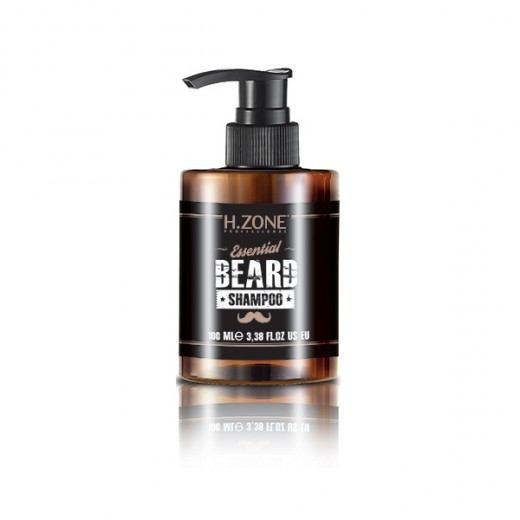 Shampooing barbe et moustache H.zone 100 ml