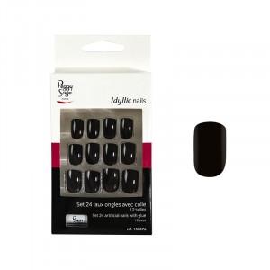 Faux ongles Idyllic nails - Black x24