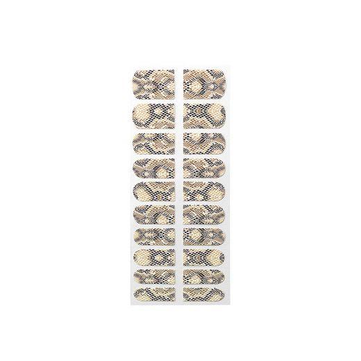 Peggy Sage Décors adhésifs pour ongles Precious nails Serpent, Sticker décoratif
