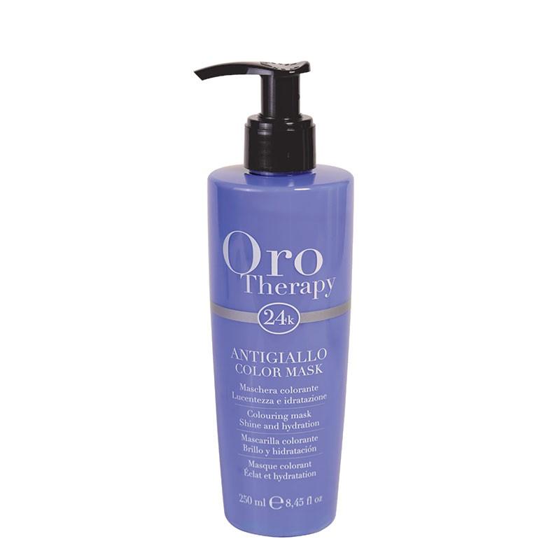 Oro Therapy Masque déjaunisseur Color Mask 250ML, Après-shampoing repigmentant