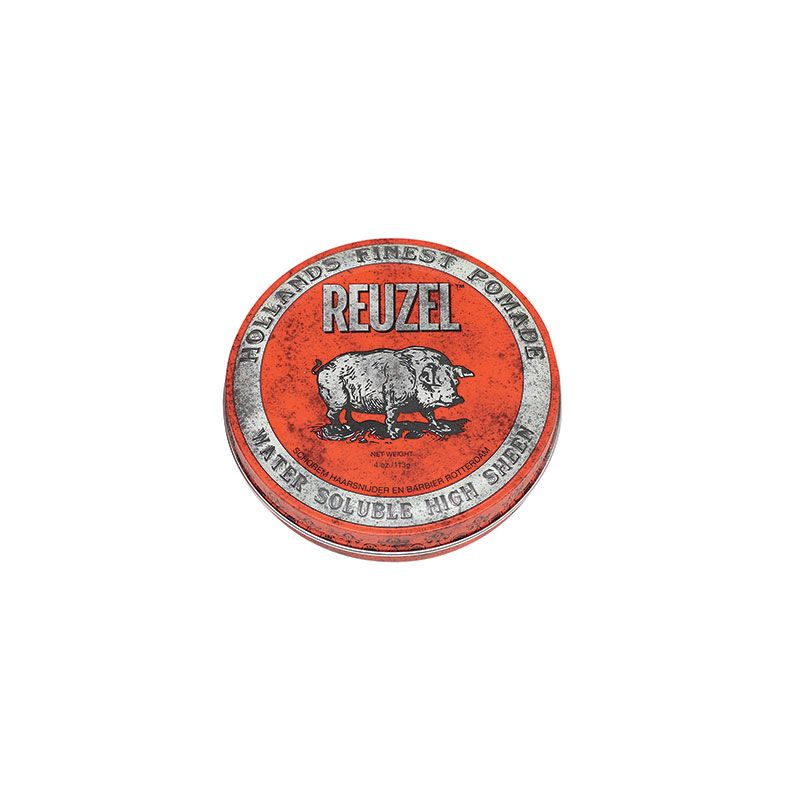 Reuzel Cire pour cheveux fixation moyenne - Red Pomade 113g, Cire