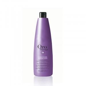 Oro Therapy Conditionneur cheveux décolorés Zaffiro Puro 1000ML, Après-shampoing avec rinçage