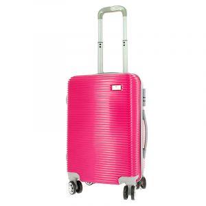 Bleu Libellule Set de bagagerie valise trolley et vanity rose, Bagagerie