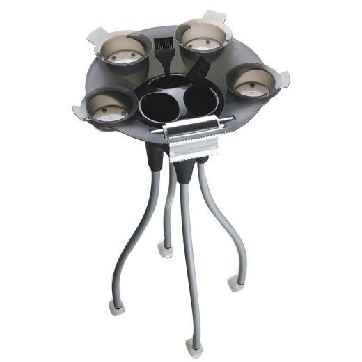 Uki Table jelly Noir, Table de service & caisse