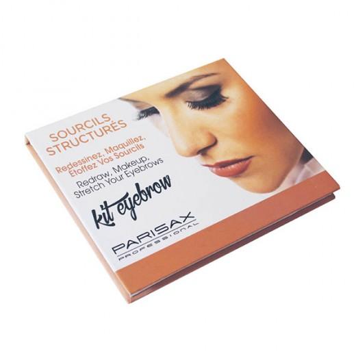 Parisax Palette de maquillage pour sourcils, Palette sourcils