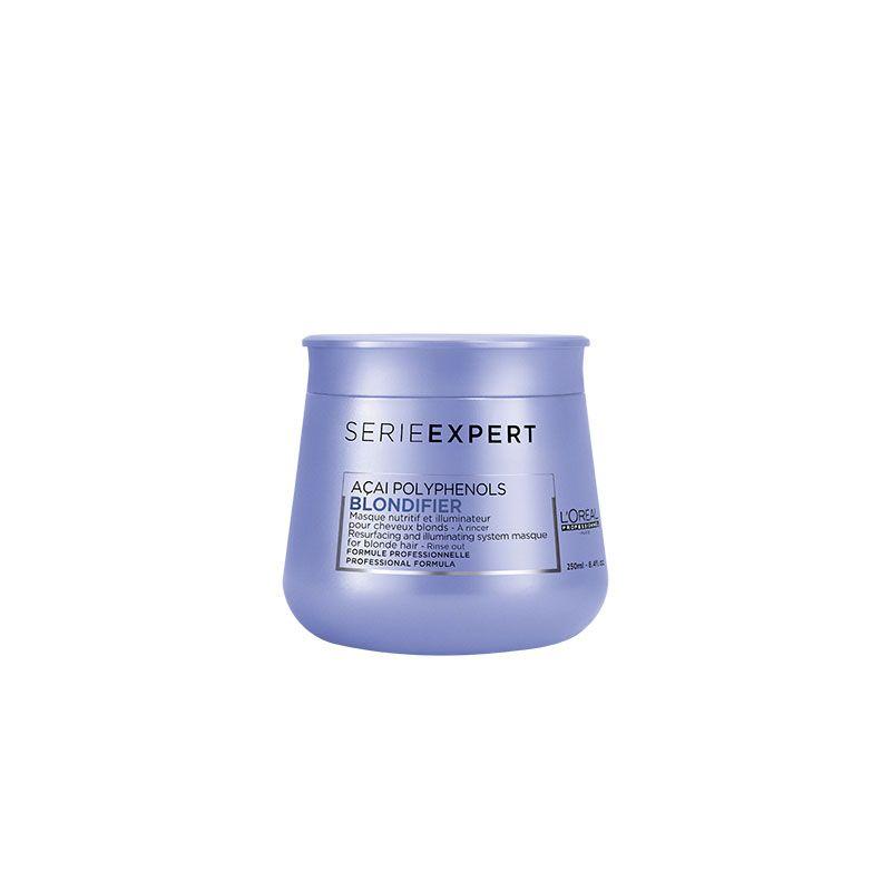 L'Oréal Professionnel Masque nutritif et illuminateur Blondifier 250ML, Masque cheveux