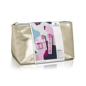 Schwarzkopf Trousse de Noël - 3 soins BC Color Freeze 650ML, Coffret