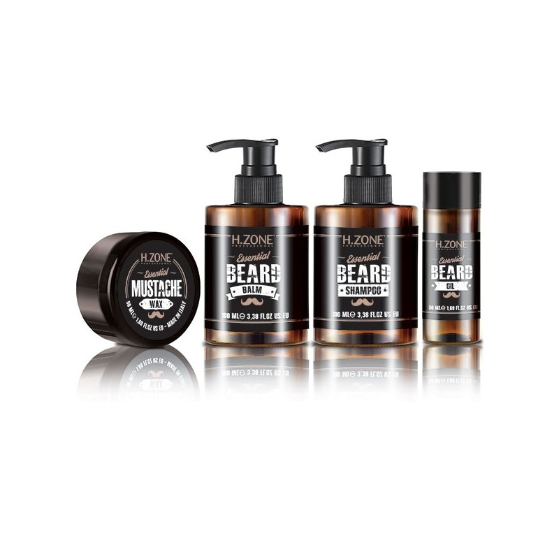 H.Zone professional Kit barbe et moustache, Coffret rasage