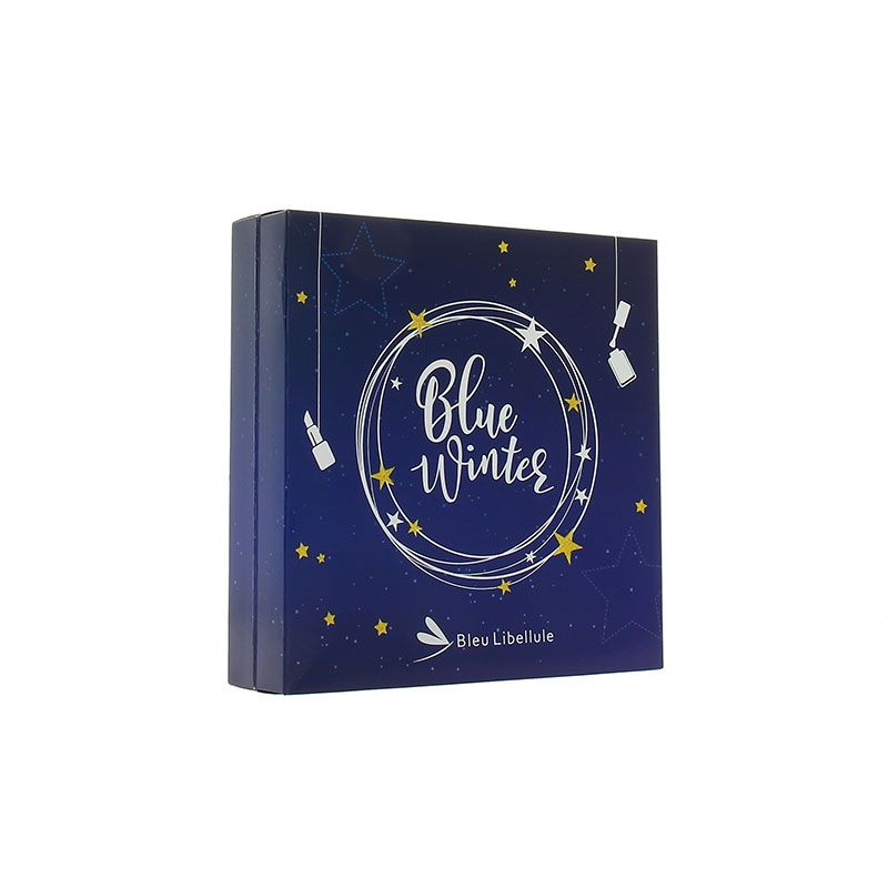 Bleu Libellule Calendrier de l'avent 2018 Blue Winter - Book, Calendrier de l'Avent