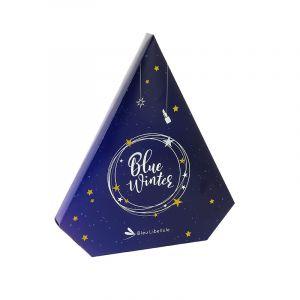 Bleu Libellule Calendrier de l'avent 2018 Blue Winter - Sapin Noël, Calendrier de l'Avent
