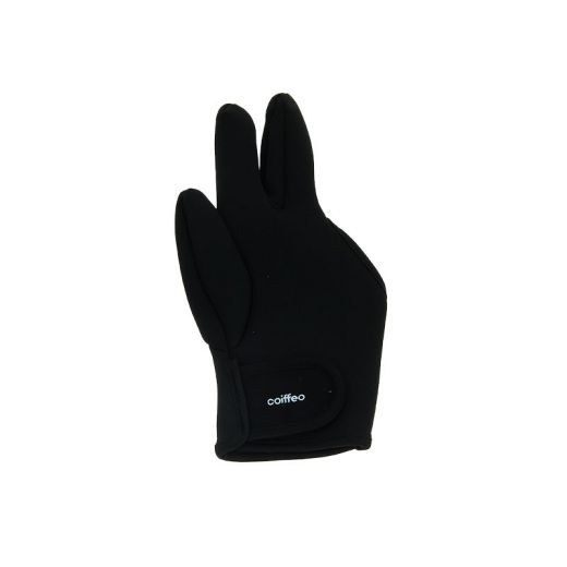 Coiffeo Gant thermo-isolant 3 doigts Noir, Accessoires lisseur