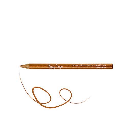 Peggy Sage Crayon contour lèvres - Gloss mandarine 1.05g, Crayon à lèvres