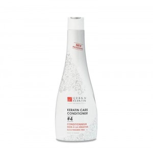 Urban Keratin Conditionneur soin à la kératine - Step 4 Keratin Care Conditioner 400ML, Shampoing entretien