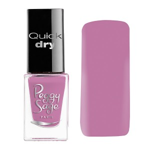 Peggy Sage Mini vernis à ongles Quick Dry Rose 5ML, Vernis à ongles couleur