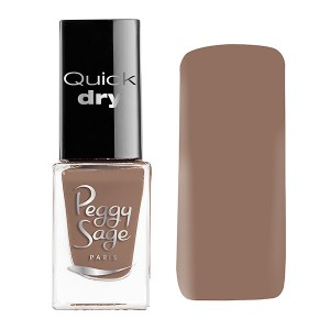 Peggy Sage Mini vernis à ongles Quick Dry Justine 5ML, Vernis à ongles couleur
