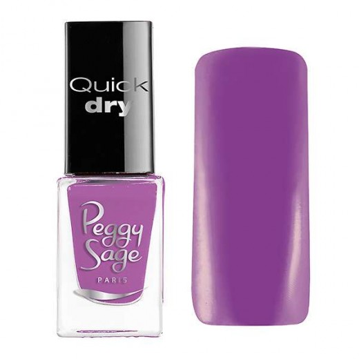 Peggy Sage Mini vernis à ongles Quick Dry Léa, Vernis à ongles couleur