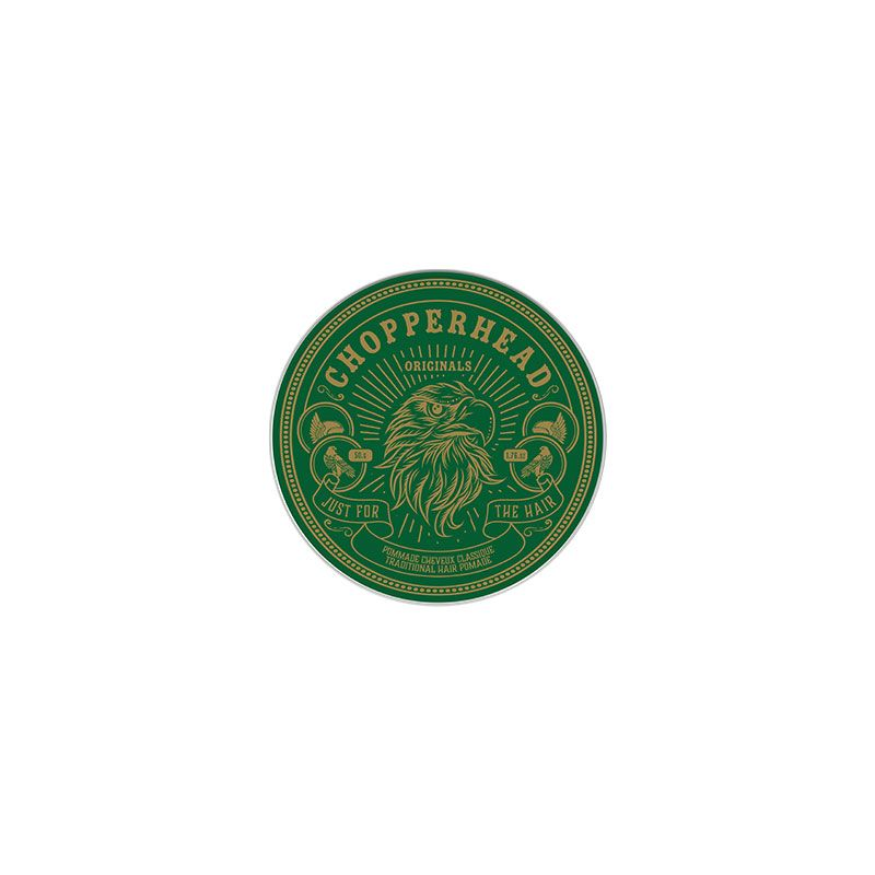 Chopperhead Pommade cheveux classique - Traditional hair pomade 50g, Cire