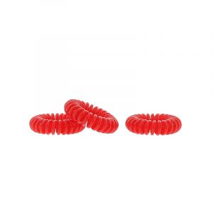 Coiffeo Hair ring Rouge x3, Elastique