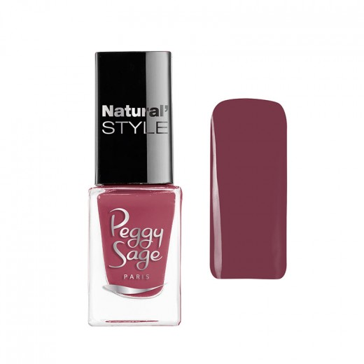 Peggy Sage Mini vernis à ongles Natural'Style Lily 5ML, Vernis à ongles couleur