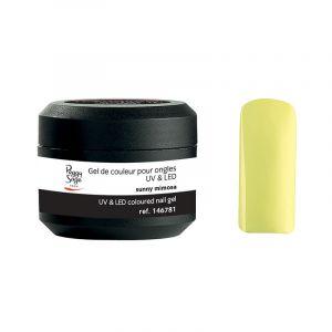 Gel UV&LED de couleur pour ongles Sunny Mimosa 5g