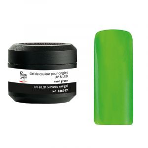 Peggy Sage Gel UV&LED de couleur pour ongles Color it - Neon green 5g, Gel couleur