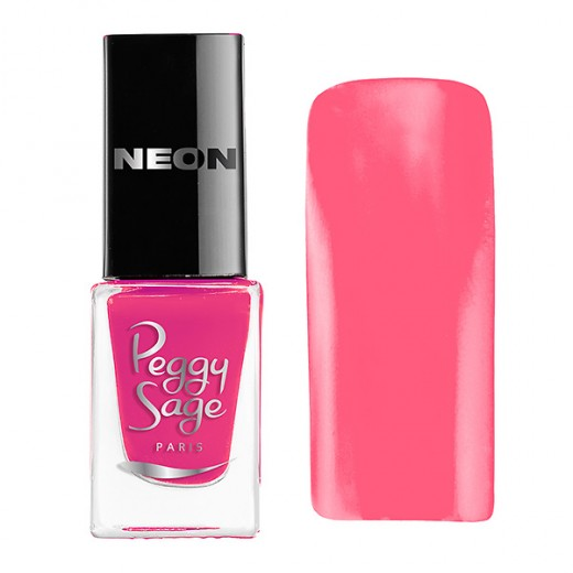 Peggy Sage Mini vernis à ongles Perfect Lasting Néon Lola 5ML, Vernis à ongles couleur