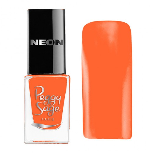 Peggy Sage Mini vernis à ongles Perfect Lasting Néon Tania 5ML, Vernis à ongles couleur