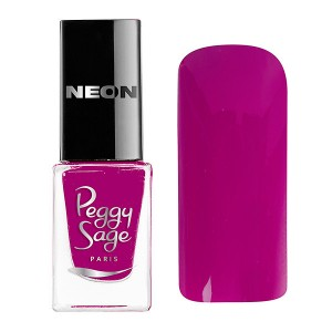 Peggy Sage Mini vernis à ongles Perfect Lasting Néon Tessa 5ML, Vernis à ongles couleur