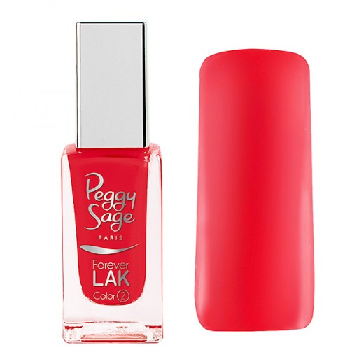 Peggy Sage Vernis à ongles Forever LAK  Coral appeal 11ML, Vernis à ongles couleur