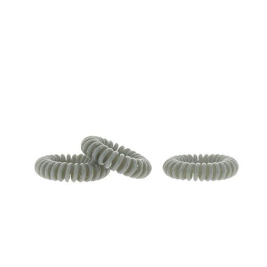 Coiffeo Hair ring Set x3 Gris souris, Elastique