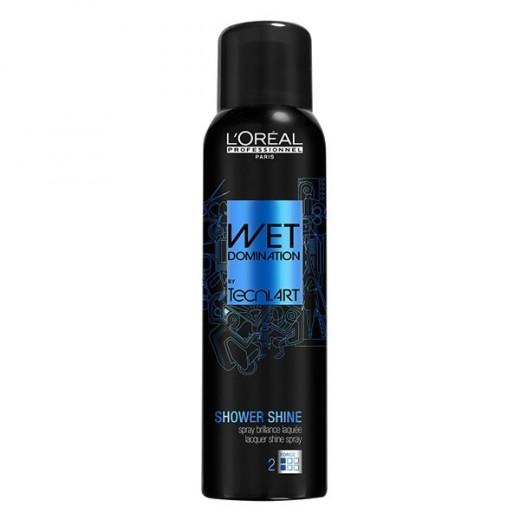 L'Oréal Professionnel Cire Shower shine Tecni.art 160ML, Spray cheveux