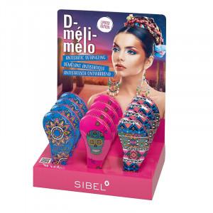 Sibel Présentoir 18 brosses D-méli-mélo Mexico, Présentoir produits