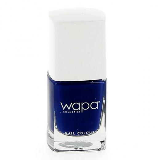 Wapa Vernis à ongles séchage rapide Bleu de minuit 802 12ML, Vernis à ongles couleur