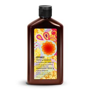 Amika Shampooing réparateur Triple RX Shampoo 300ML, Cosmétique