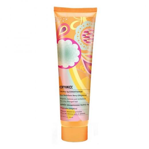 Amika Après-shampooing réparateur Triple RX Conditioner 250ML, Après-shampoing avec rinçage