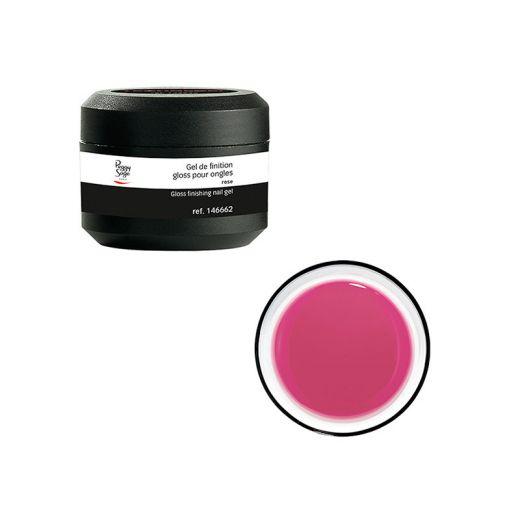 Peggy Sage Gel uv de finition Gloss rose, Gel finition